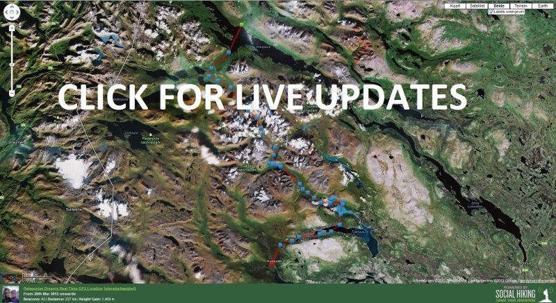 Click here for live updates from our SPOT GPS Satellite Messenger