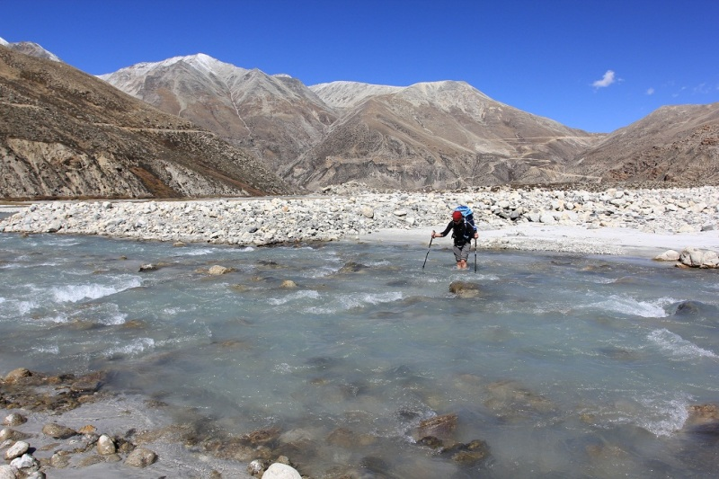 River crossings. Still awesome. Especially at 4500m asml.