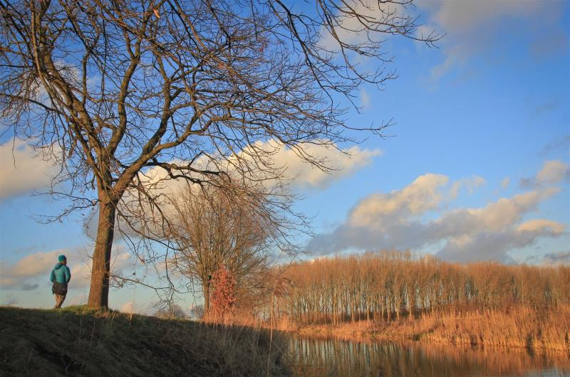 December. Adventures in your own backyard. Kalkse Meersen. Belgium.