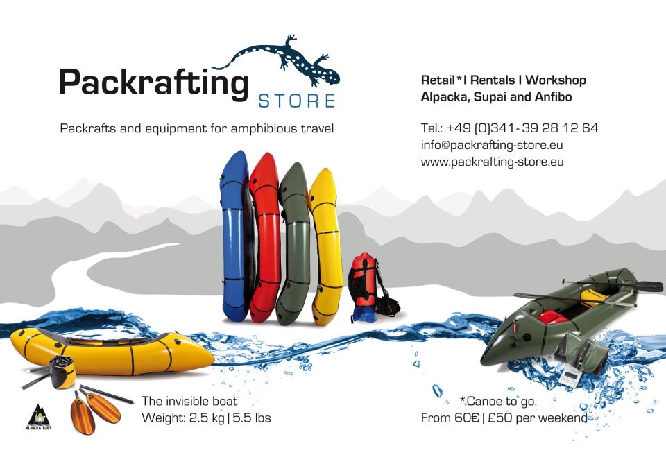Anfibio is the gear brand of the Packrafting Store, specializing in packrafting accessories. It is a design and development label based on user experiences directly suited to packrafting's unique requirements.