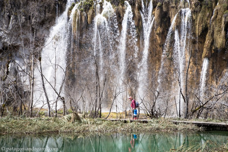 Big sister duties coming up (summer 2018)... Plitvice Lakes National Park on a 10 day hiking trip, Croatia, april 2018